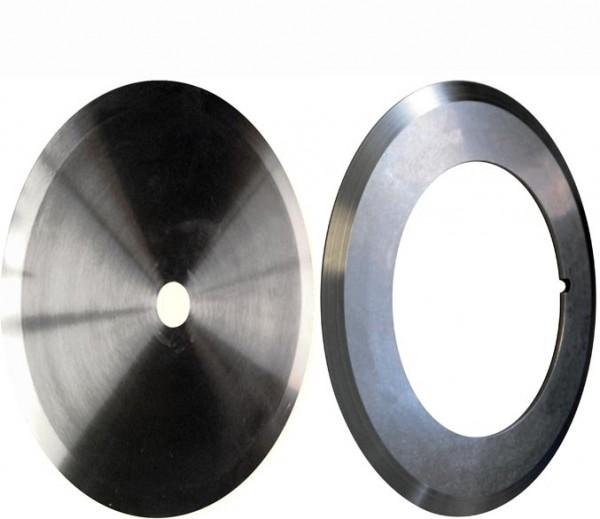 Kreismesser schleifen Rundmesser schärfen Ringmesser Tellermesser nachschleifen