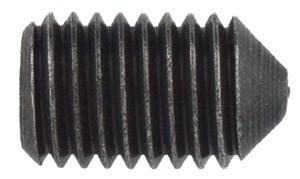 pwwu24.de Gewindestift M12 S6 20mm mit Spitze für Messerkopf