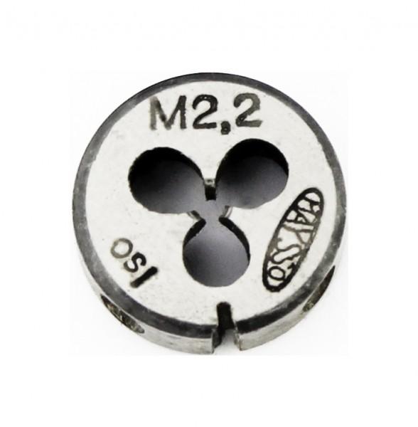 Schneideisen M 2,2 Gewindeschneideisen pwwu24.de