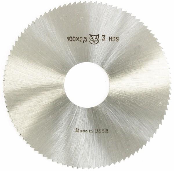 Metallkreissägeblatt HSS 100 x 2,5 x 27mm, 100 Zähne DIN 1837 A pwwu24.de