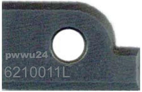 Profilmesser 6210011L 15 x 12 x 1,5 mm für Abplattfräser von Pela