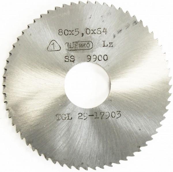 Metallkreissägeblatt HSS  63 x 0,95 x 16 mm, 160 Zähne DIN 1837 A pwwu24.de