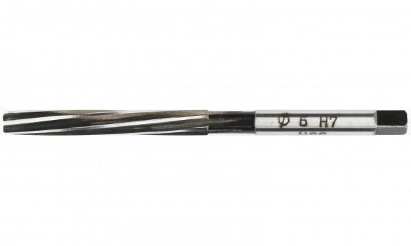 Handreibahle 6mm H7 HSS DIN 208 gedrallt