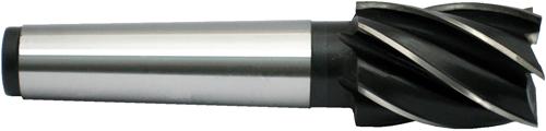 HSS-Schaftfräser DIN 845 B Typ N 6 Schneiden MK1