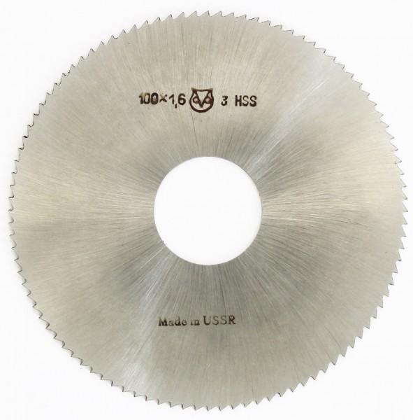Metallsägeblatt HSS 100 x 1,6 x 27 100 Zähne DIN 1837 A pwwu24.de