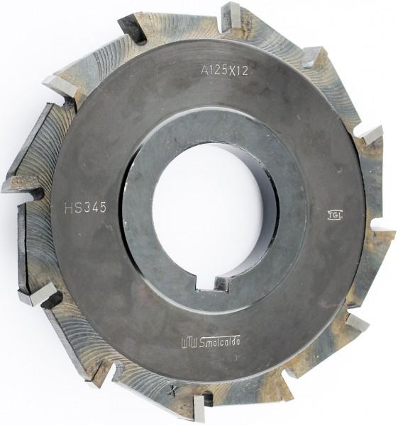 Scheibenfräser 125x12 mm, 12Z Hartmetall-bestückt pwwu24.de