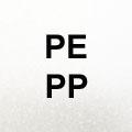 für PE (Polyethylen), für PP (Polypropylen )