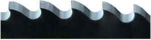 Metallsägeblatt mit Bogenzahn Zahnform B
