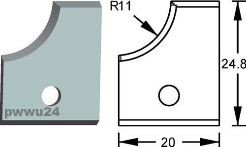 HW Profilmesser R11 für FLURY 09.19111.1
