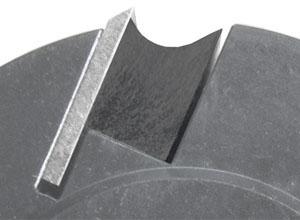 Hobelmessekopf mit Druckleiste