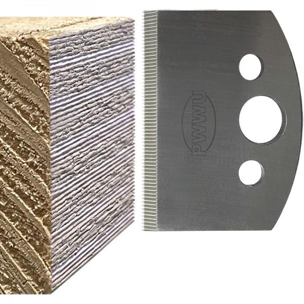Profilmesser für Microriffelung, Werkzeug für Mikroriffelung