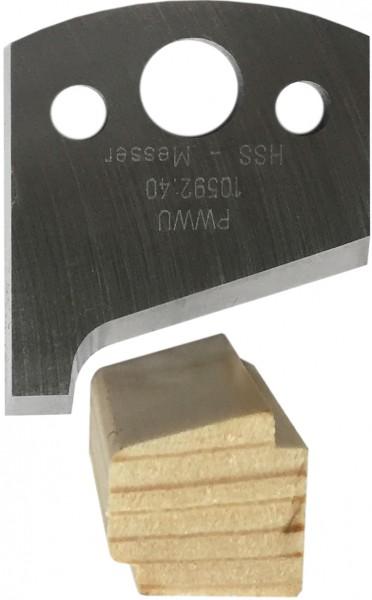 HSS Profilmesser für Glasleiste von pwwu