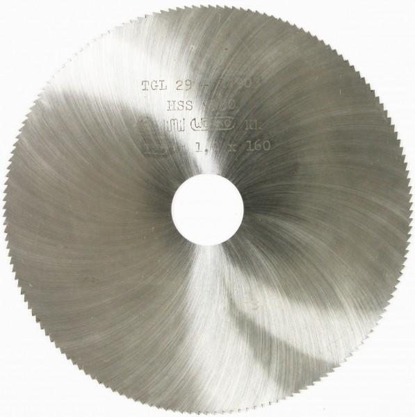 Metallsägeblatt HSS 125 x 1,0 x 22 160 Zähne pwwu24.de