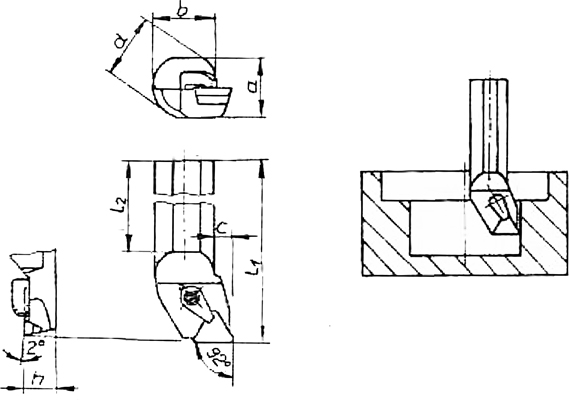 Klemmhalter BPR 74 Skizze