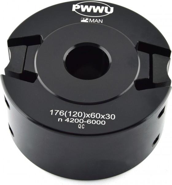 Profilmesserkopf / Sicherheitsmesserkopf 60 mm von pwwu24.de