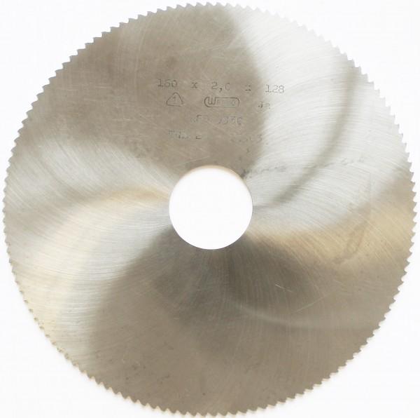 Metallkreissägeblatt HSS 160 x 2,0 x 32mm, 128 Zähne DIN 1837 B pwwu24.de