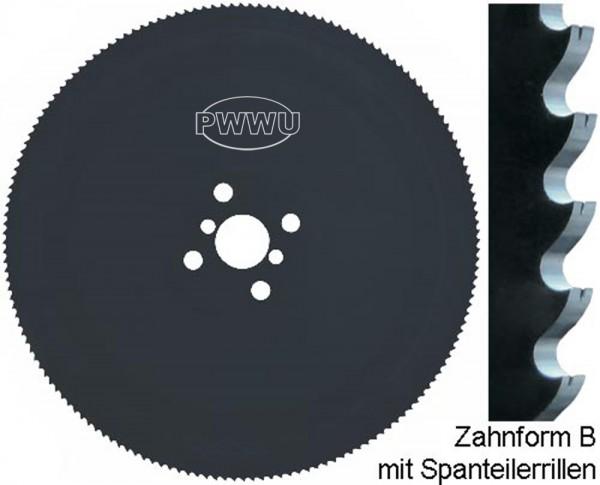 Metallkreissägeblatt HSS Spanteiler pwwu24.de