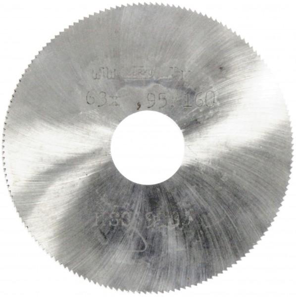 Metallkreissägeblatt HSS  63 x 0,95 x 16mm, 160 Zähne DIN 1837 A pwwu24.de