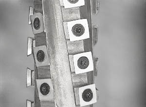 Spiralmesserwelle