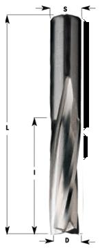 Schaftfräser 3Z Linkslauf