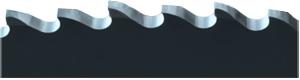Betallkreissägeblätter mit Zahnform BW