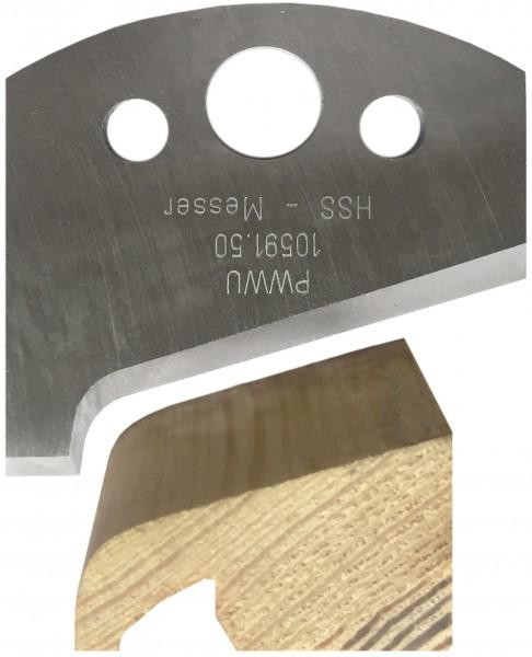 HSS-Profilmesser mit Abdeckleiste von PWWU